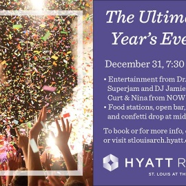 The Ultimate NYE Party at Hyatt Regency 2016