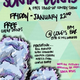 Free Stand Up Comedy Show in Logan Square