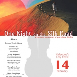 Valentine's Day Pop Up - One Night on the Silk Road