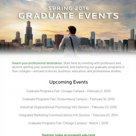 Roosevelt University: Graduate Program Fair - Chicago