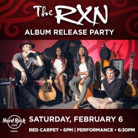 The RXN's CD Release Party!!!!