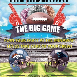 The Big Game at the Hideaway