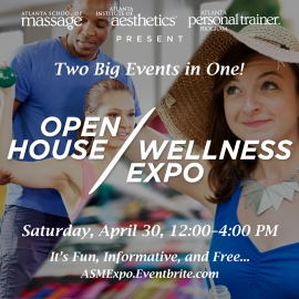 Atlanta School of Massage: Open House & Wellness Expo