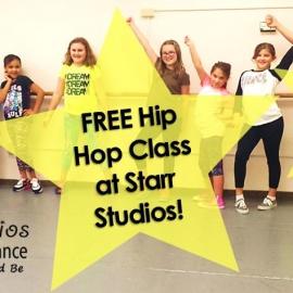 Free Hip Hop Dance Class to Celebrate National Dance Week