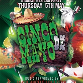 Cinco De Mayo At Club Prana
