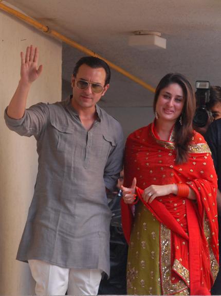 Saif and Kareena just married!