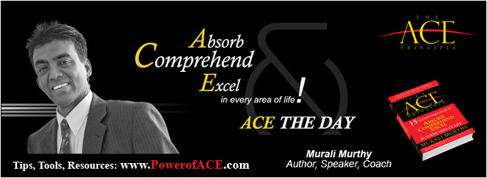 The Ace Principle by Murali Murathy