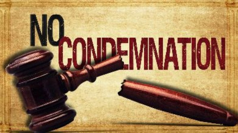 The condemnation of those