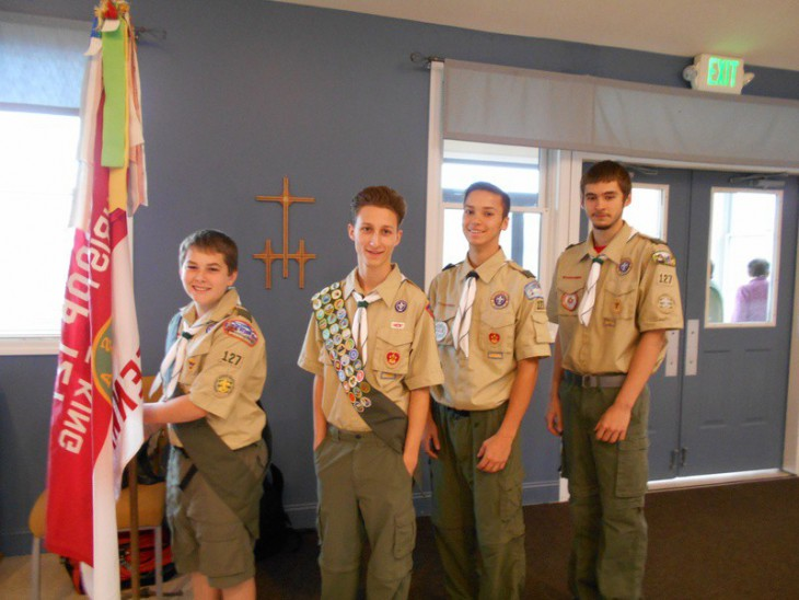Boy Scout Troop 127 photo. Click photo to see Boy Scout's website.