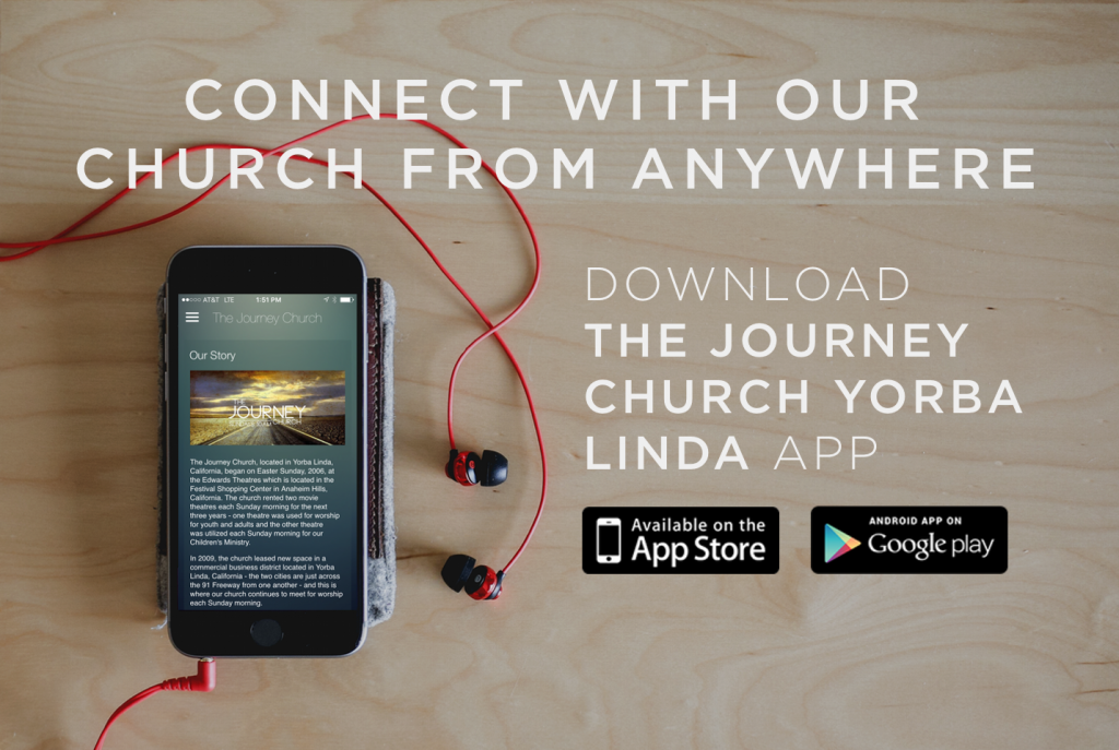 New App for The Journey Church in Yorba Linda CA with Pastor Mark Scott