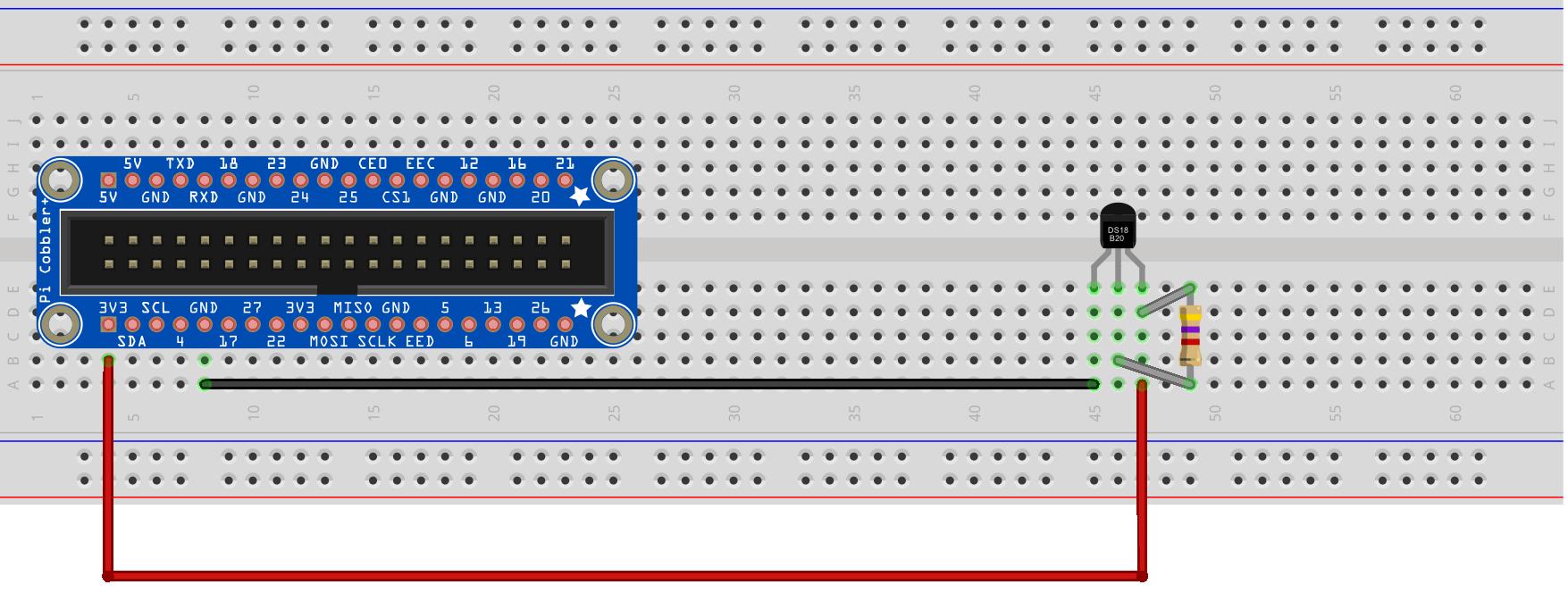 Схема подключения ds2408