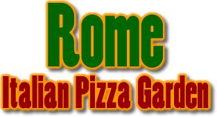 Rome Italian Garden Pizza