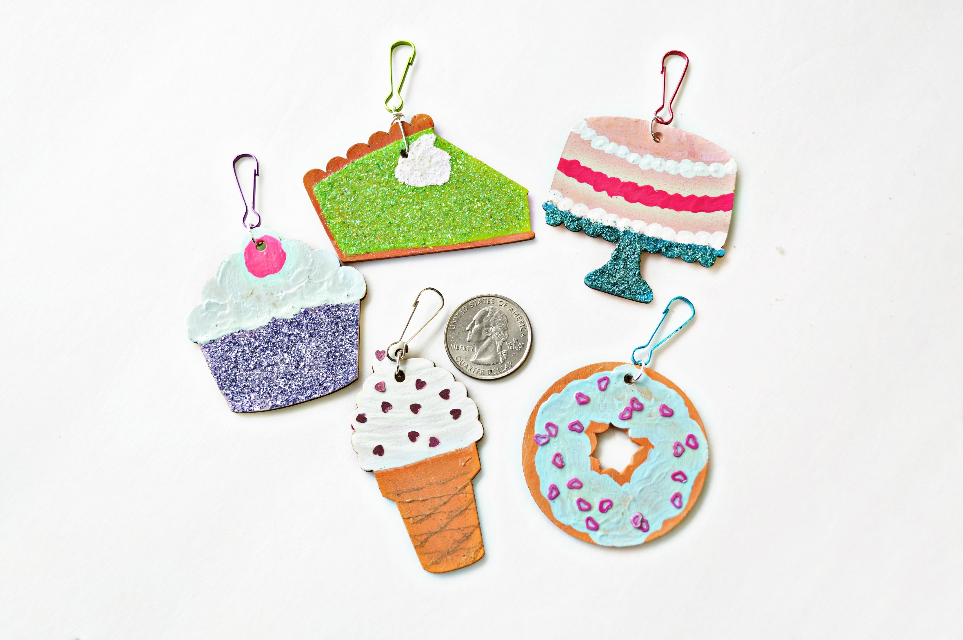 Sweets Key Chain Charms