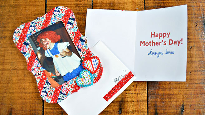 Matching Mother's Day Card and Gift