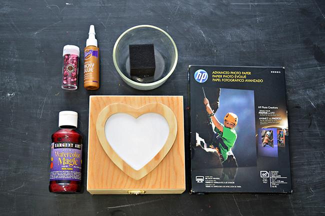 Heart Photo Box