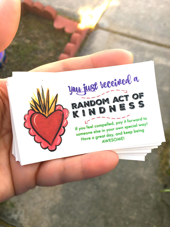 Random Act of Kindness Cards - MyPrintly
