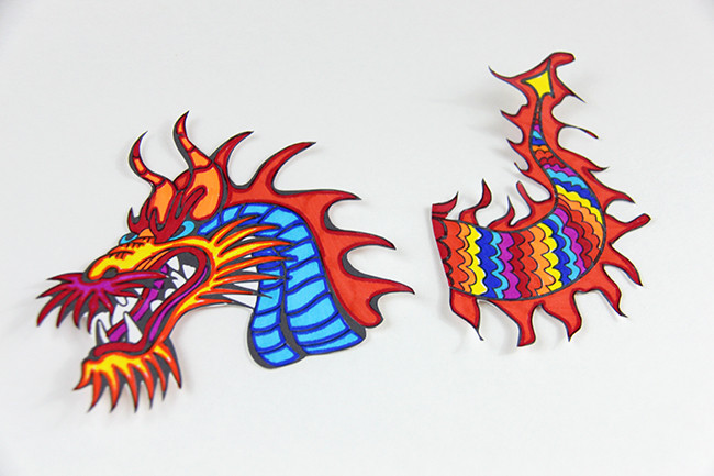 Chinese Dragon Puppet - MyPrintly