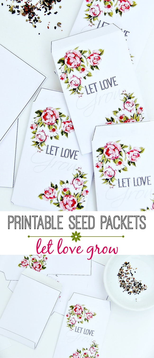Printable Vintage Seed Packets