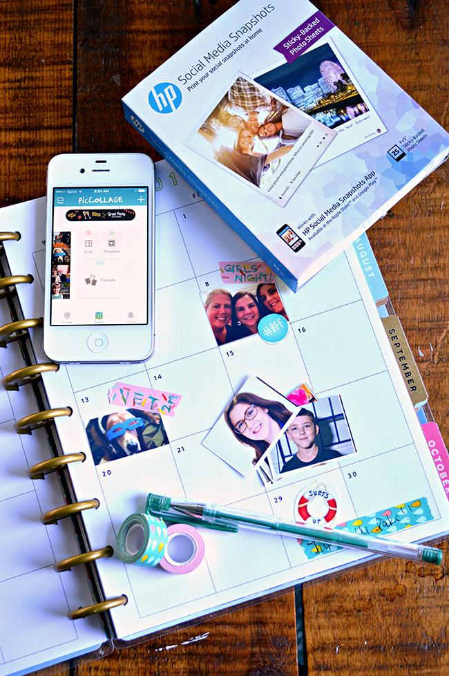 DIY Photo Stickers