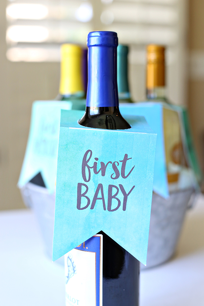 Wedding Gift Wine Bottle Labels