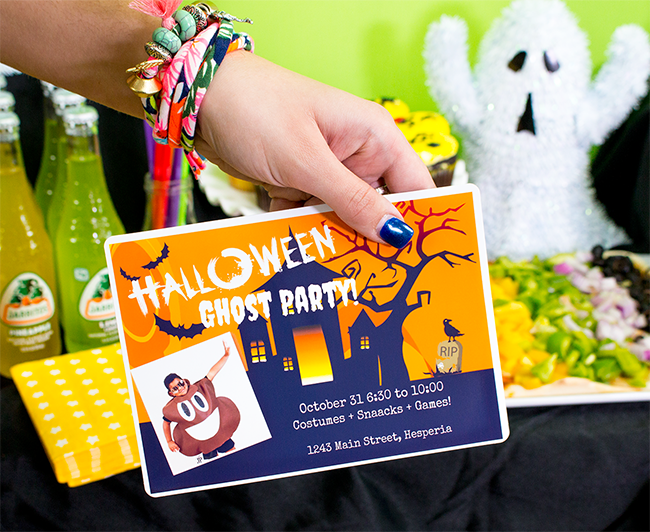 Fast Halloween Party Invites