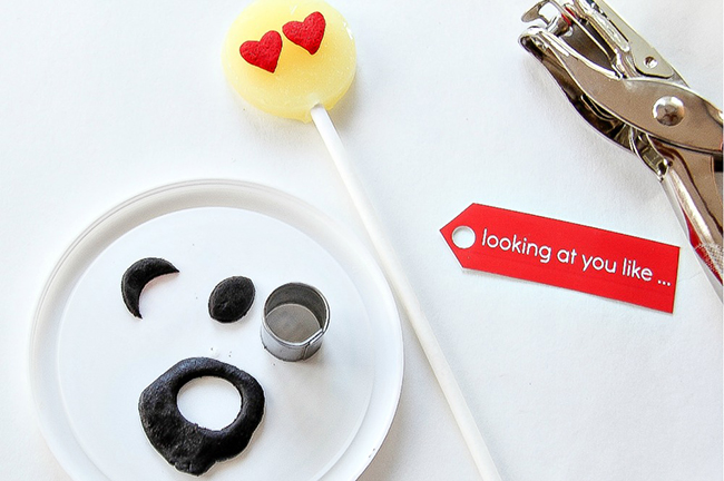 Emoji Lollipop Valentine's Day Gifts