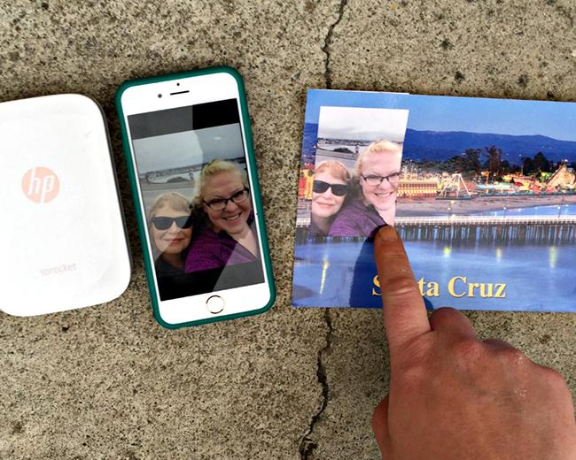 Sprocket Selfie Postcards