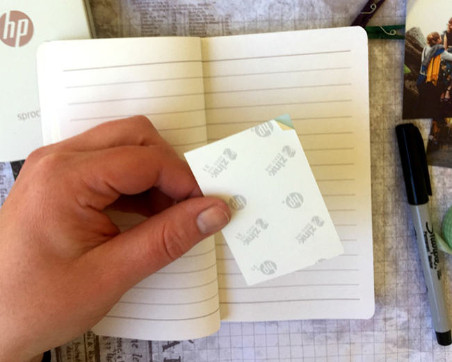Sprocket Travel Journal