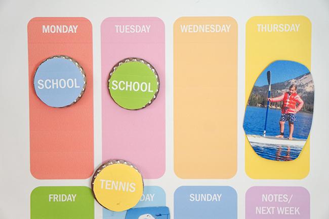 Kids Weekly Calendar
