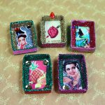 Glittery Matchbox Magnets