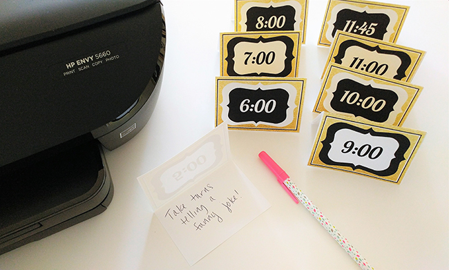 New Years Countdown Cards Craft
