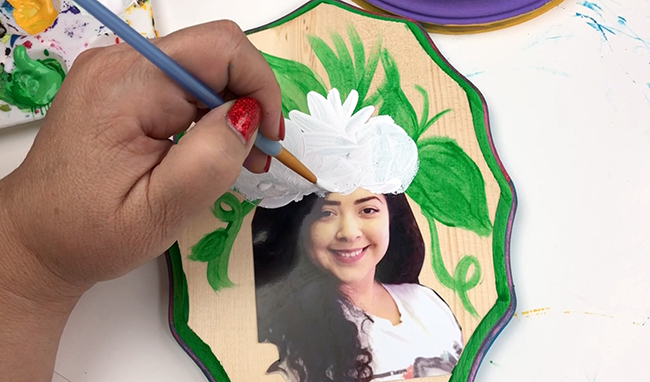 DIY Pop Art Portrait