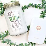DIY Sloth Soaking Salts