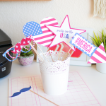 DIY 4th of July Photobooth