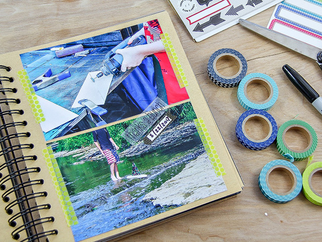 DIY Handmade Memory Book