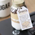 DIY S'mores Cookie Jar Gift