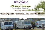 Website for Derrick P. French Remodeling
