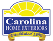 Website for Carolina Home Exteriors of Myrtle Beach