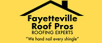 Website for Fayetteville Roof Pros