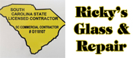 Website for Ricky's Glass & Repair, LLC