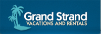 Website for Grand Strand Vacations and Rentals