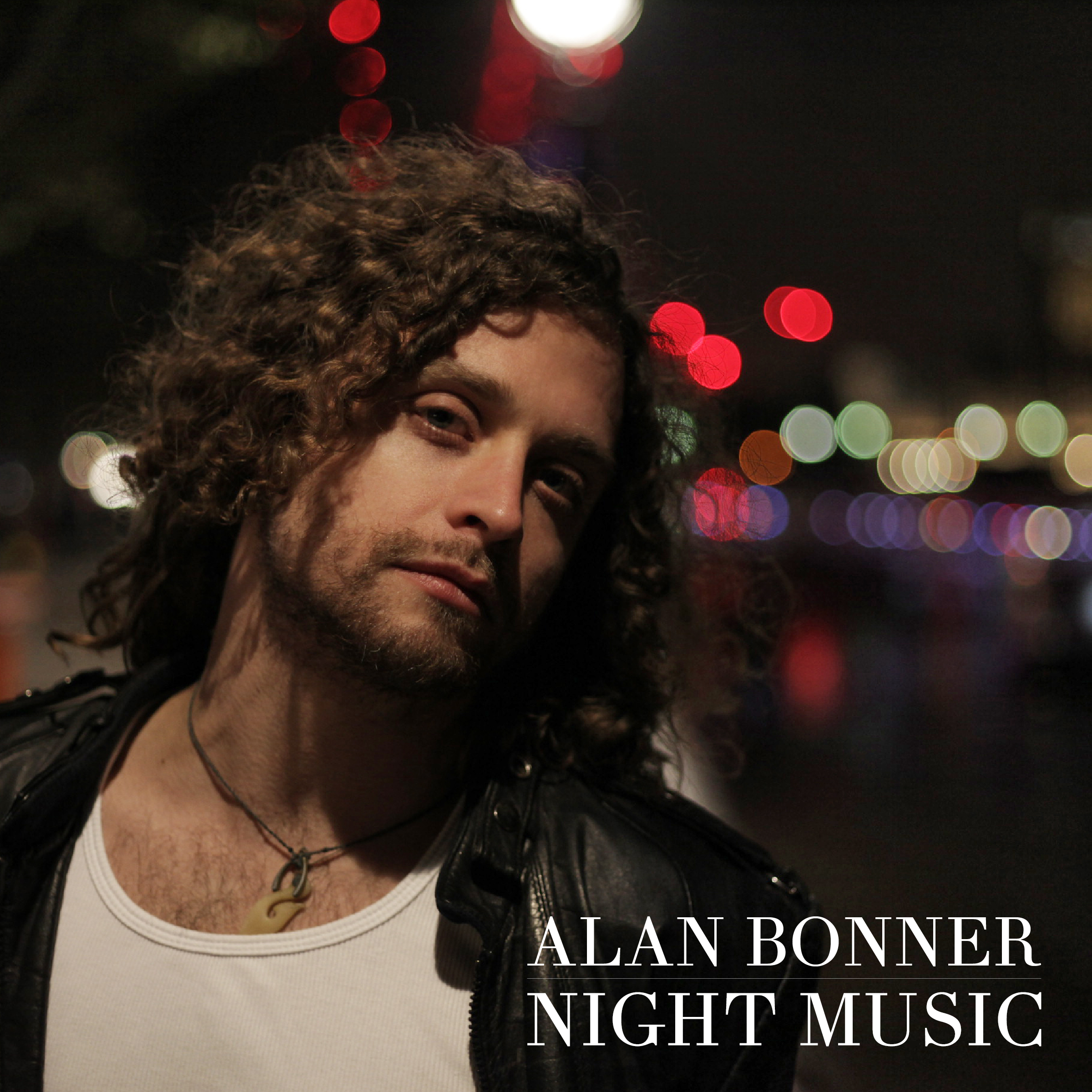 Alan bonner night music album cover