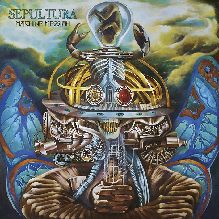Sepultura   machine messiah   artwork
