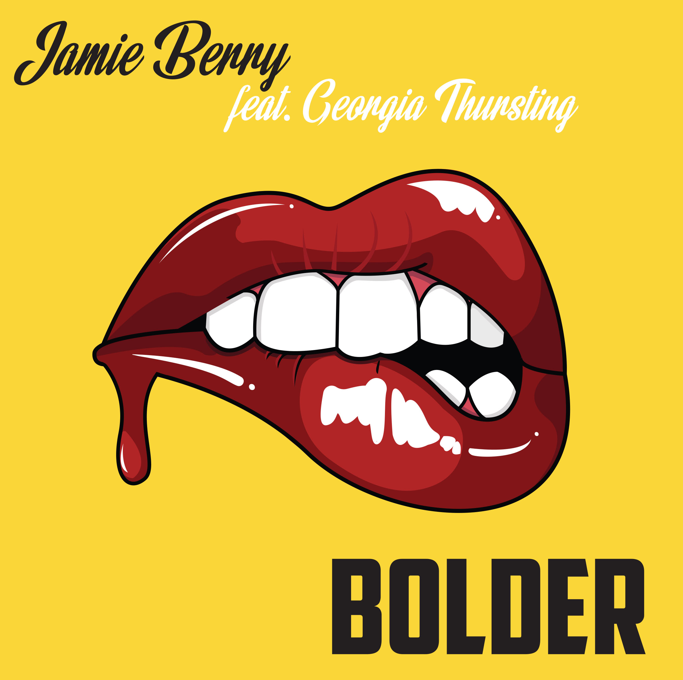 Artwork jamie berry bolder yellow