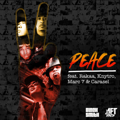 Peace album artwork 1000x1000 black v2small