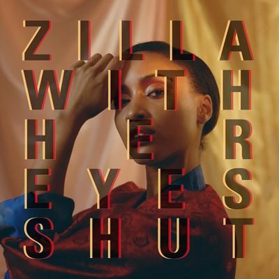 Zilla with her eyes shut