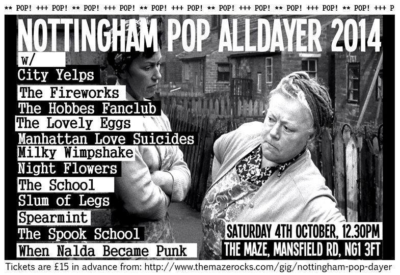 Nottingham pop all dayer