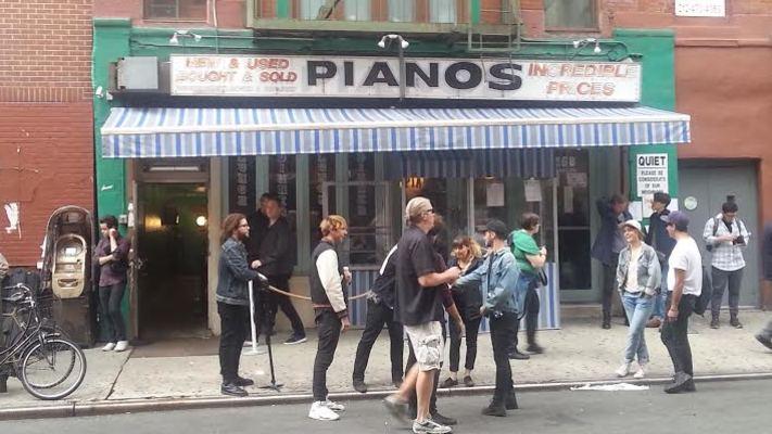 Pianos   cmj 2015