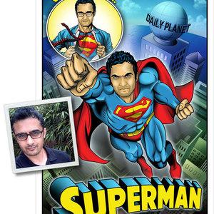 Lg toon superman