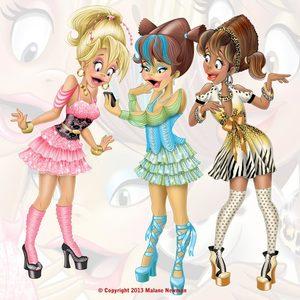 Lg toon shopping girls 02